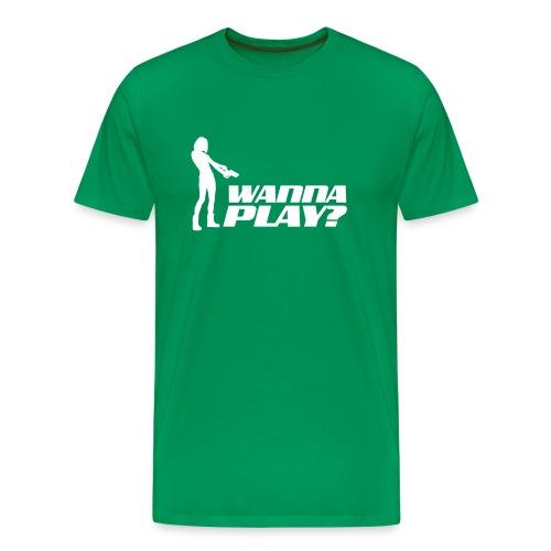 Wanna Play? - Männer Premium T-Shirt
