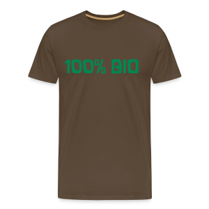 100% BIO - Männer Premium T-Shirt
