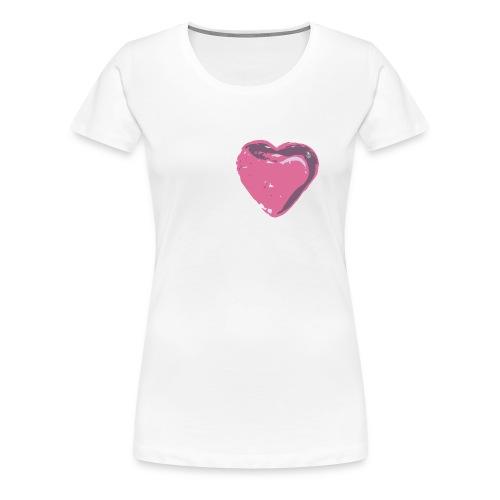 Heart of Glass T-Shirt - Women's Premium T-Shirt