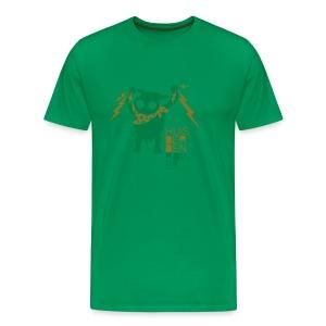 HUISBERDEN POWER - Männer Premium T-Shirt