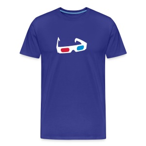 3D Glasses T-Shirt - Men's Premium T-Shirt