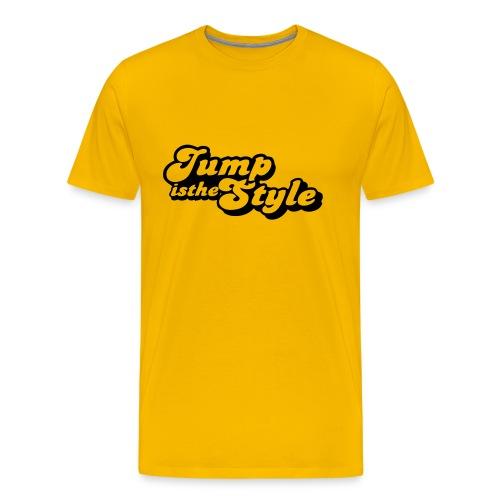 Jump is the style Shirt - Mannen Premium T-shirt