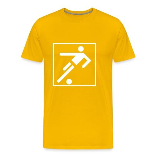 StreetWize FOOTY Customisable Comfort T - Men's Premium T-Shirt