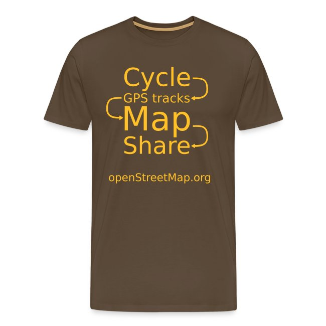 Brown/yellow T (front)