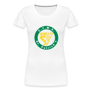 St Patricks CYMS the place where hibs where born - Women's Premium T-Shirt