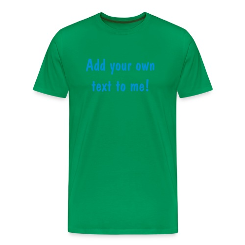 Dark Green T-shirt - Men's Premium T-Shirt