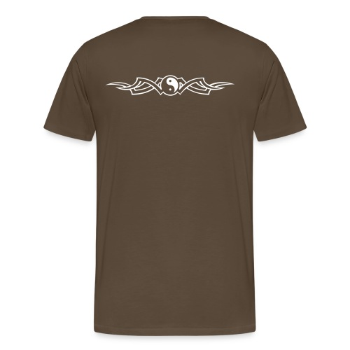 Spiritual Yin Yang - Mannen Premium T-shirt