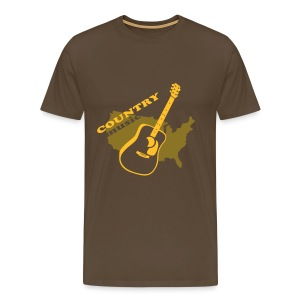 Motive-T-Shirt, COUNTRY - Männer Premium T-Shirt