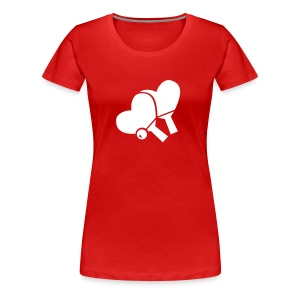 Table Tennis Love Top - Women's Premium T-Shirt