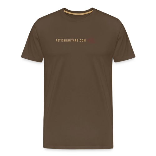 Fetish Moka Brown - Men's Premium T-Shirt