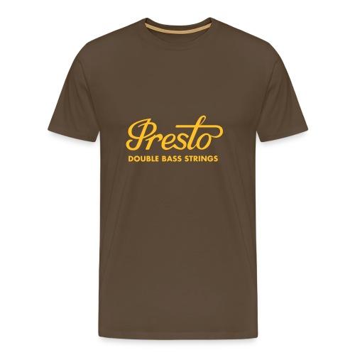 Presto (Comfort T) 3 - Männer Premium T-Shirt
