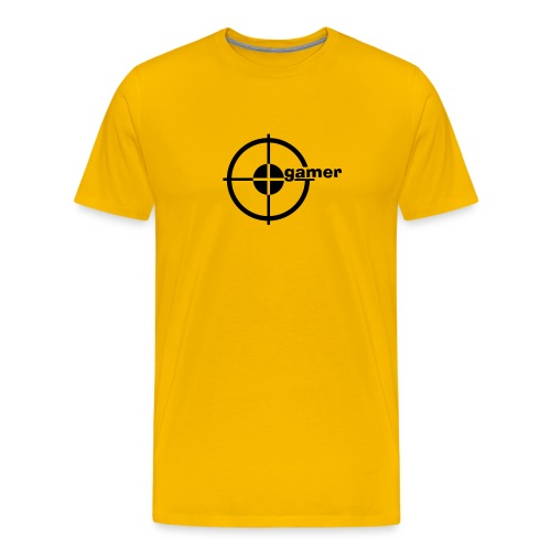 Gamer aim - Men's Premium T-Shirt