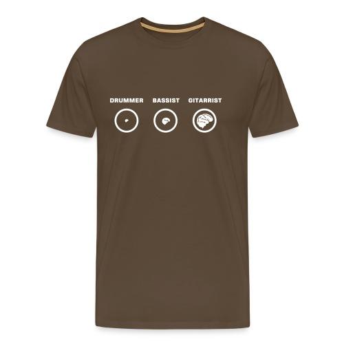 Music's Brain's evolution - T-shirt Premium Homme