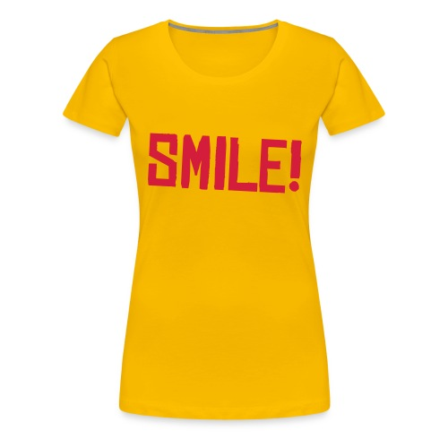 Smile! Tankus the Henge t shirt GIRLS - Women's Premium T-Shirt