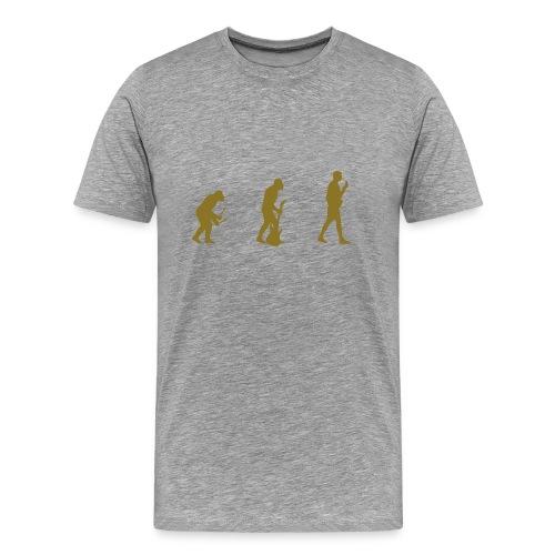 Music Evolution - Men's Premium T-Shirt