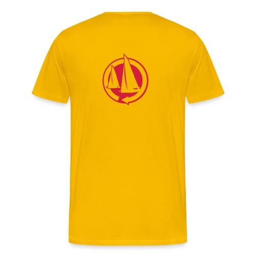 Eat Sleep Sail - Mens - Men's Premium T-Shirt