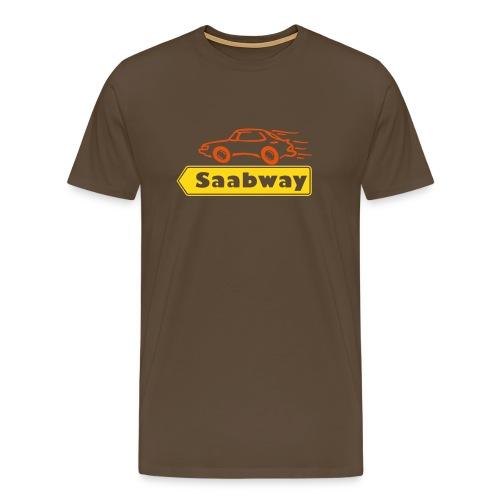 Saabway - Men's Premium T-Shirt