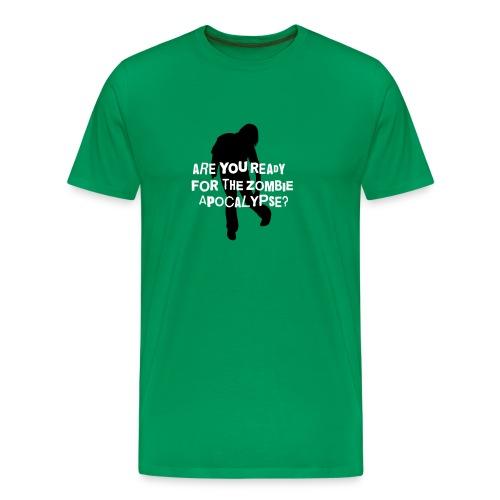 Zombie Apocalypse T-Shirt - Men's Premium T-Shirt