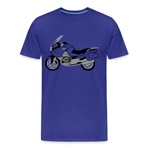 R1200RT Silver Lowers (Royal Blue) - Men's Premium T-Shirt