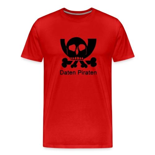 Daten Pirat - Männer Premium T-Shirt