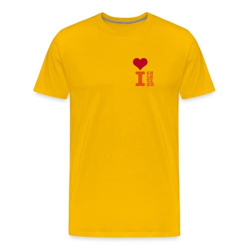 Skjetten Varehus (gla´i rei) - Premium T-skjorte for menn