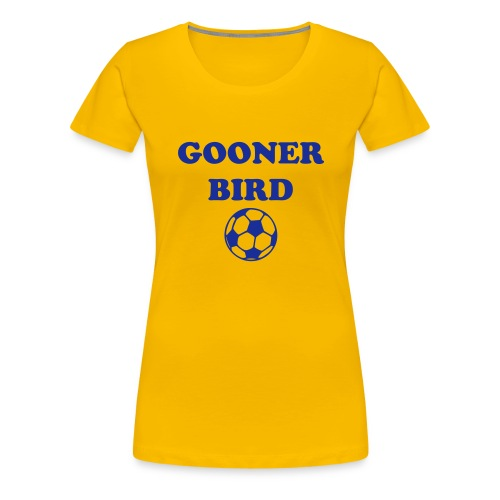 Arsenal 'Gooner Bird' - Women's Premium T-Shirt