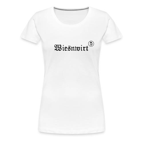 WIESNWIRT - Frauen Premium T-Shirt