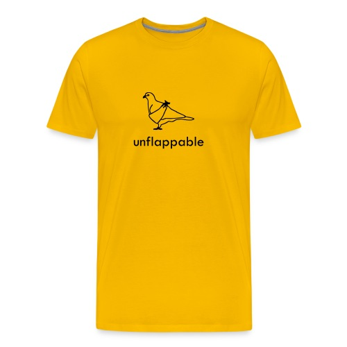 Unflappable Comfort Tee - Men's Premium T-Shirt