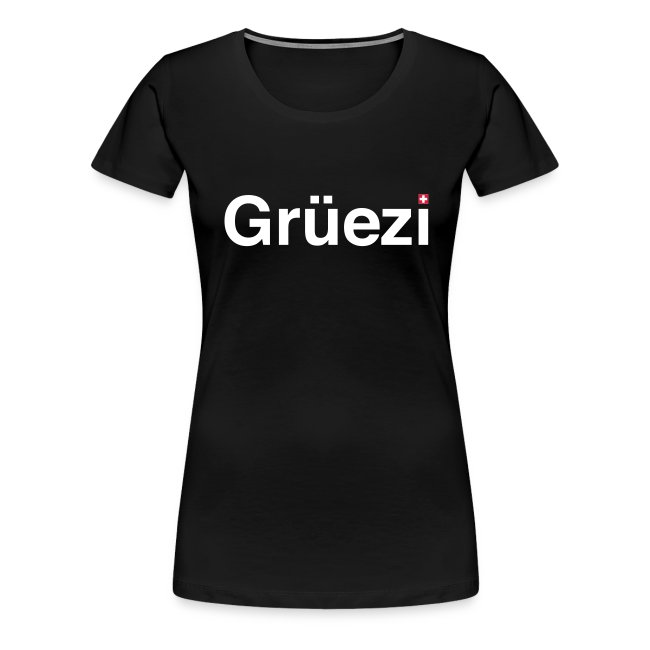 Grüezi-Shirt Girlie