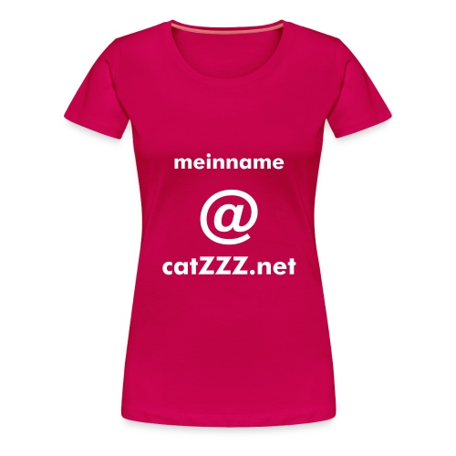 catZZZ.net Mail-Shirt - Frauen Premium T-Shirt