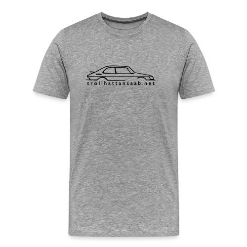 TS White 1 color C900 tee - Men's Premium T-Shirt
