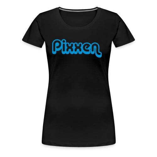 Girlie-Shirt, schwarz - Frauen Premium T-Shirt