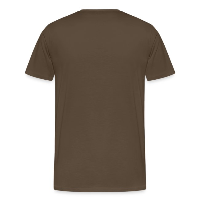 No limit, t-shirt classique, marron