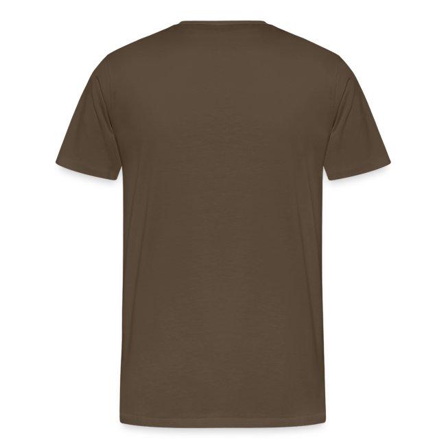 No limit, t-shirt classique, marron