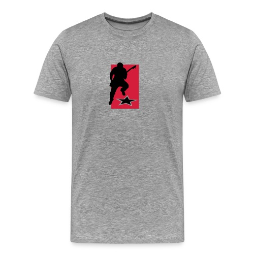 Motive-T-Shirt, Gitarrist - Männer Premium T-Shirt