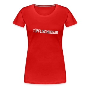 tüpfli/red - Frauen Premium T-Shirt