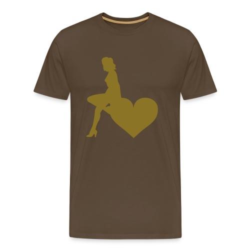 Girl Heart - Men's Premium T-Shirt