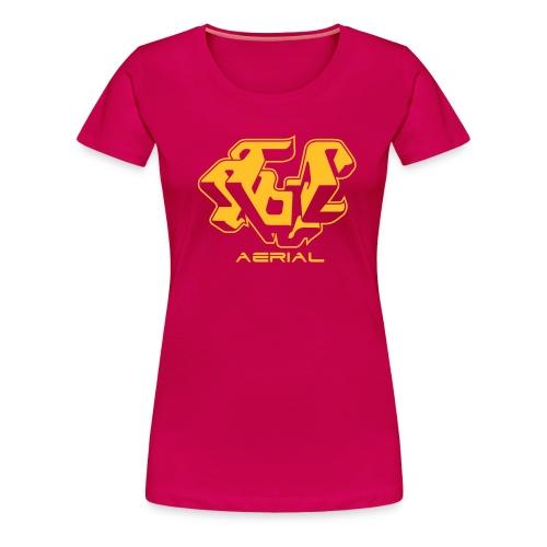 AERIEL J - Women's Premium T-Shirt