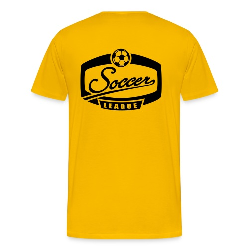 Soccer League, Goal - T-shirt Premium Homme