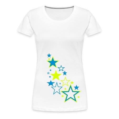 Sternen - Frauen Premium T-Shirt