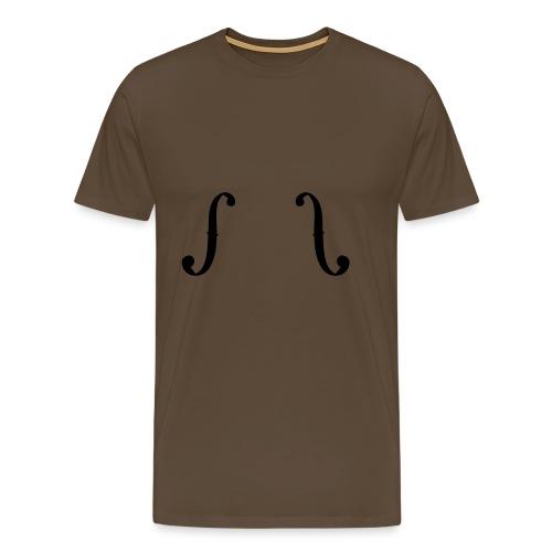 ƒƒ chocolate - Männer Premium T-Shirt