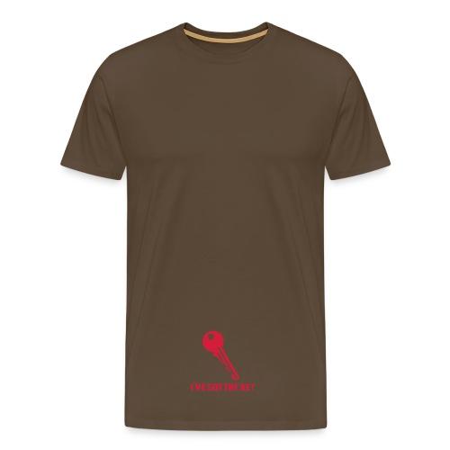I'VE GOT THE KEY - T-shirt Premium Homme