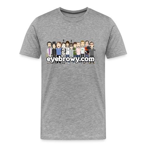 eyebrowy.com generic - Men's Premium T-Shirt