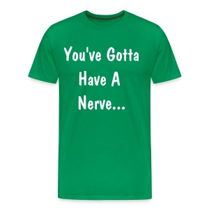 Perv T No Image Green - Men's Premium T-Shirt