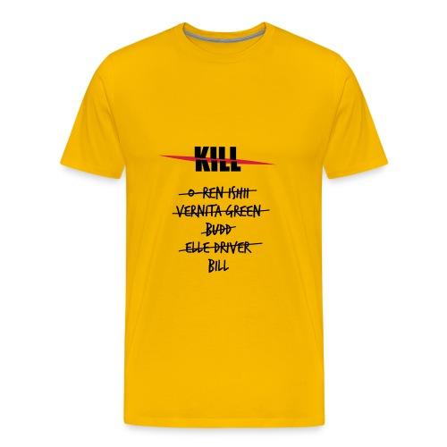 Camiseta Kill Lista 3 - Camiseta premium hombre