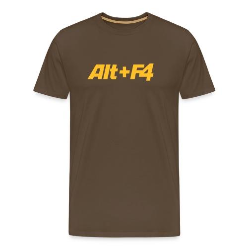 ALT+F4 - Herre premium T-shirt