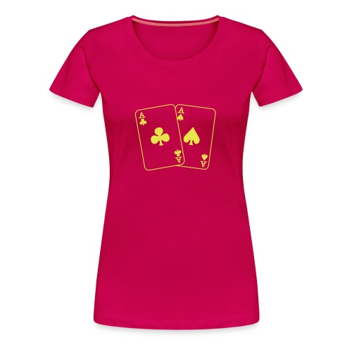 ace - Frauen Premium T-Shirt