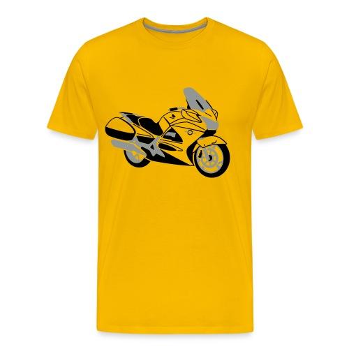 ST1300 (Yellow) - Men's Premium T-Shirt