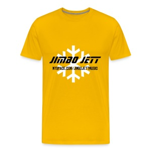 Jimbo Jett T-shirt (yellow) - Men's Premium T-Shirt