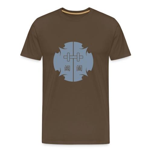 Porte Céleste Impériale Argentée - T-shirt Premium Homme
